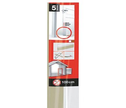 Burlete bajo puerta de pvc axton blanco ref 16155650 leroy merlin - Burlete puerta ...
