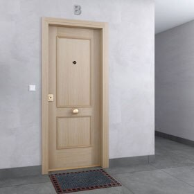 Leroy merlin puerta blindada finest amig boton cilindro - Puerta acorazada leroy merlin ...