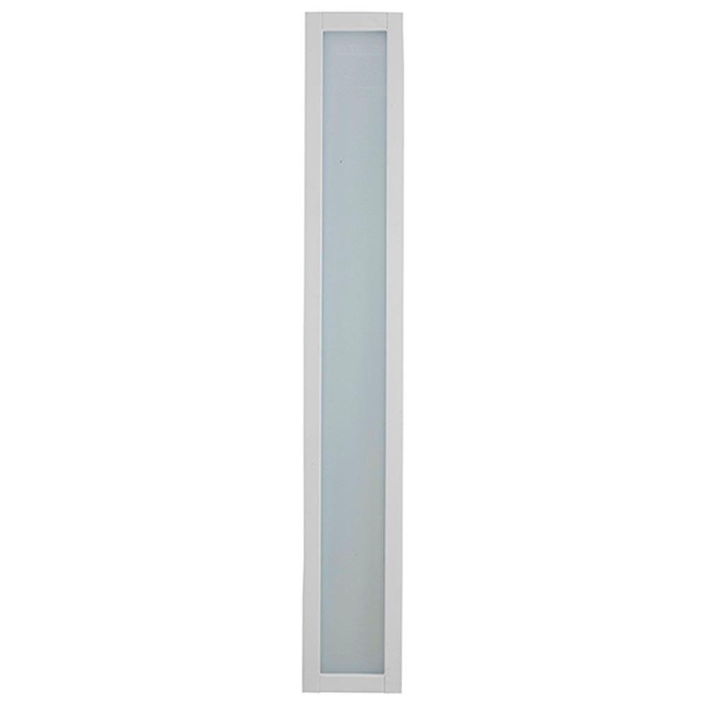Puerta de entrada acorazada fresada blanca ref 16146081 - Puerta acorazada leroy merlin ...