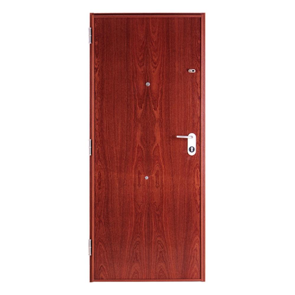 Puerta de entrada acorazada recta sapelly ref 16571282 - Puerta acorazada leroy merlin ...