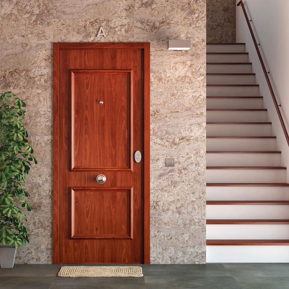 Puerta De Entrada Acorazada Recta Sapelly Ref 16571296
