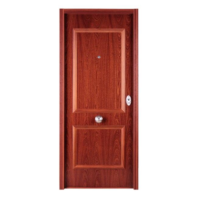 Puerta de entrada acorazada recta sapelly ref 16571296 - Puerta acorazada leroy merlin ...