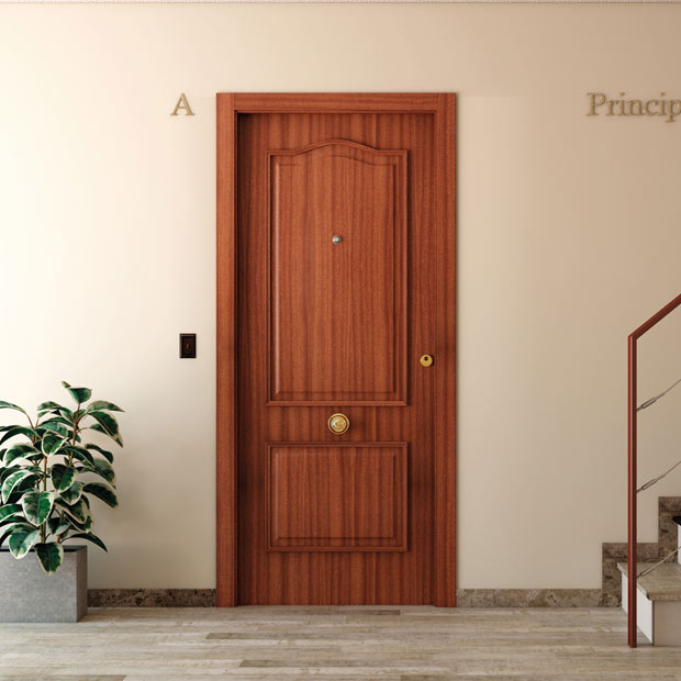 Puertas de entrada leroy merlin - Puertas de exterior rusticas baratas ...
