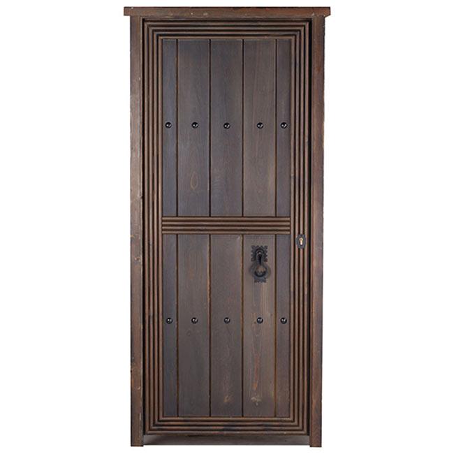 Puerta de entrada maciza azahara r stico ref 14069244 - Baldosas rusticas leroy merlin ...
