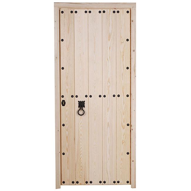 Puerta de entrada maciza c rdoba cruda ref 14069090 for Leroy merlin cordoba
