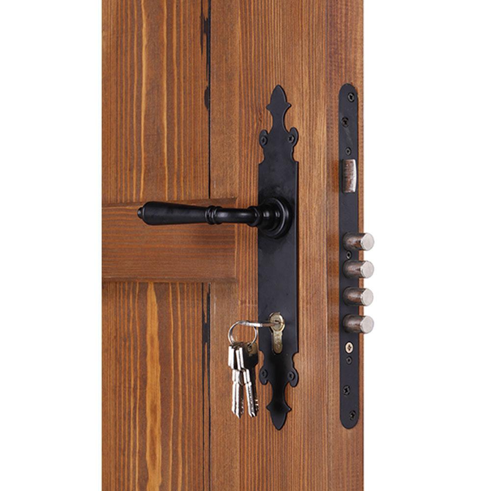 Puerta de entrada maciza c rdoba cuero ref 14069146 for Leroy merlin cordoba