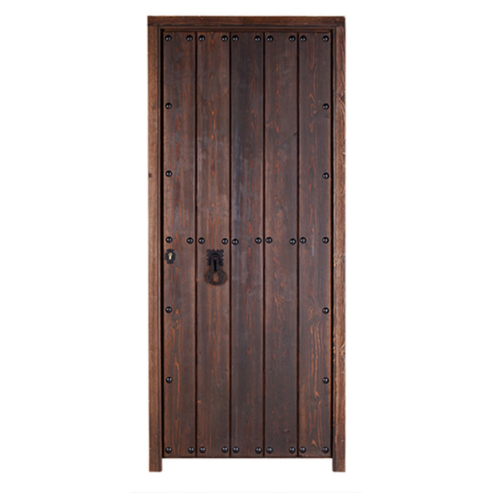Puerta de entrada maciza c rdoba r stico ref 14069111 for Leroy merlin cordoba