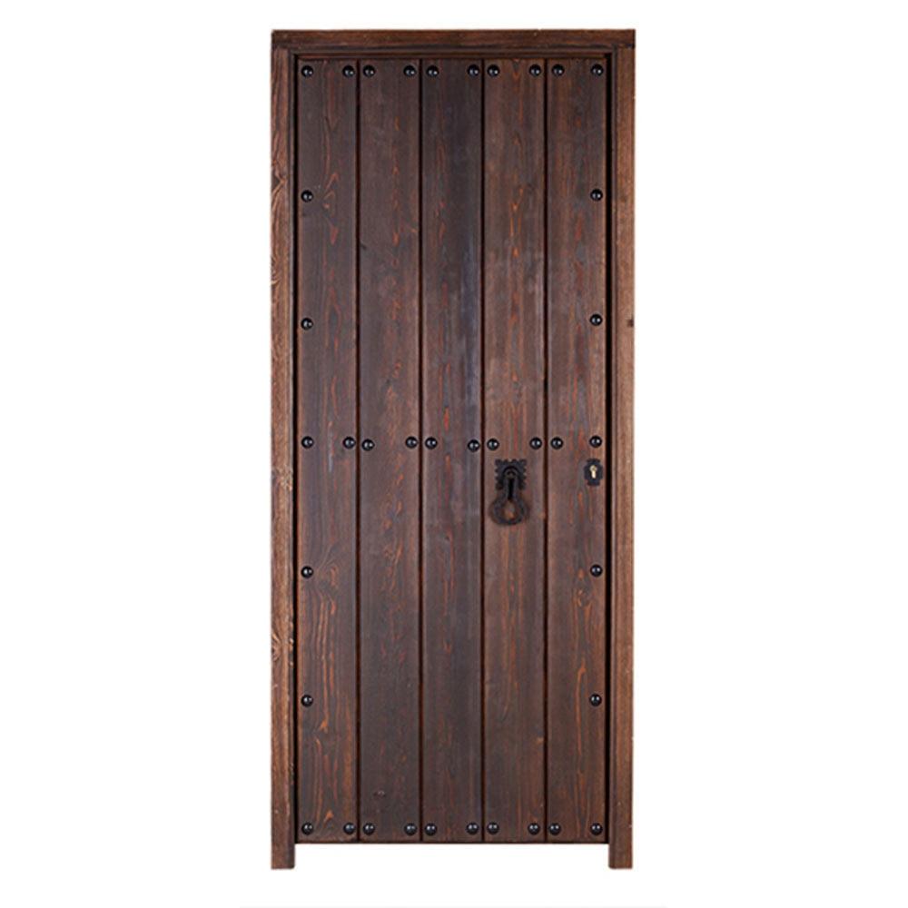 Puerta de entrada maciza c rdoba r stico ref 14069125 for Leroy merlin cordoba