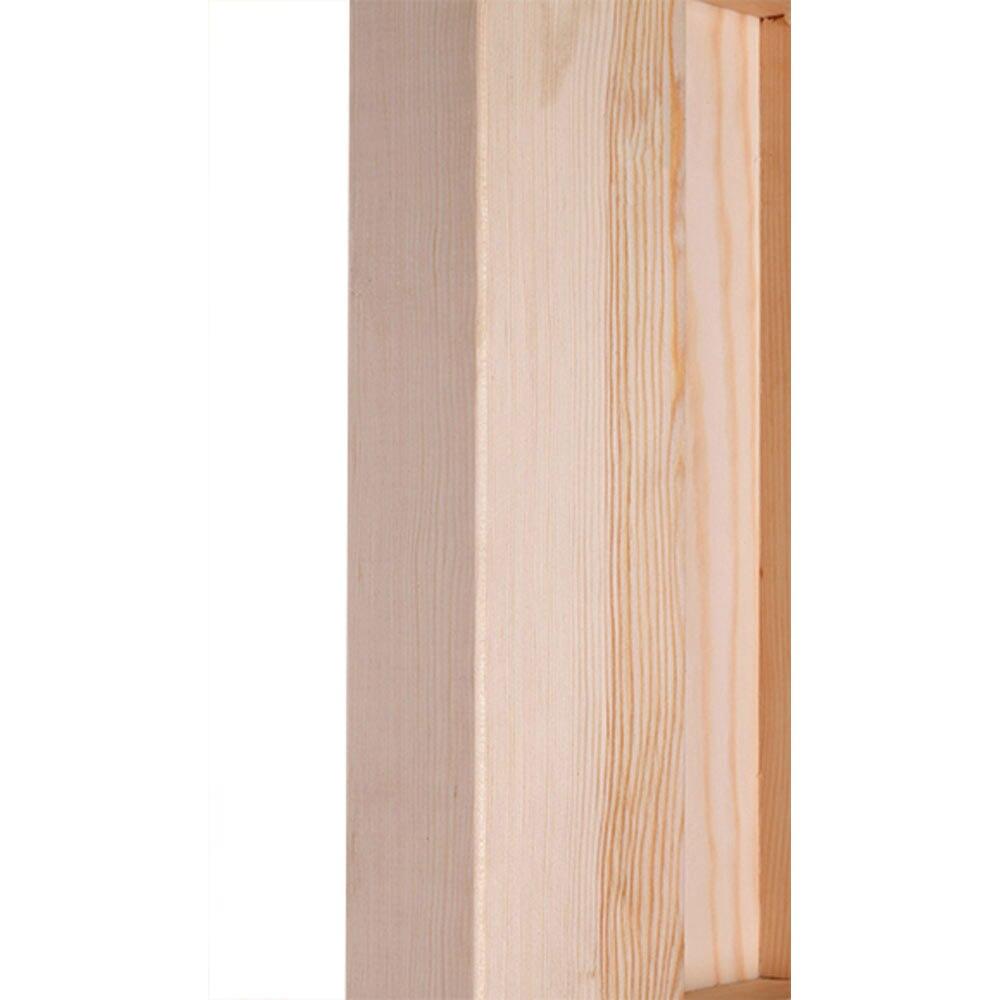 Puerta de entrada maciza pino partida reja ref 14780234 for Puertas de reja