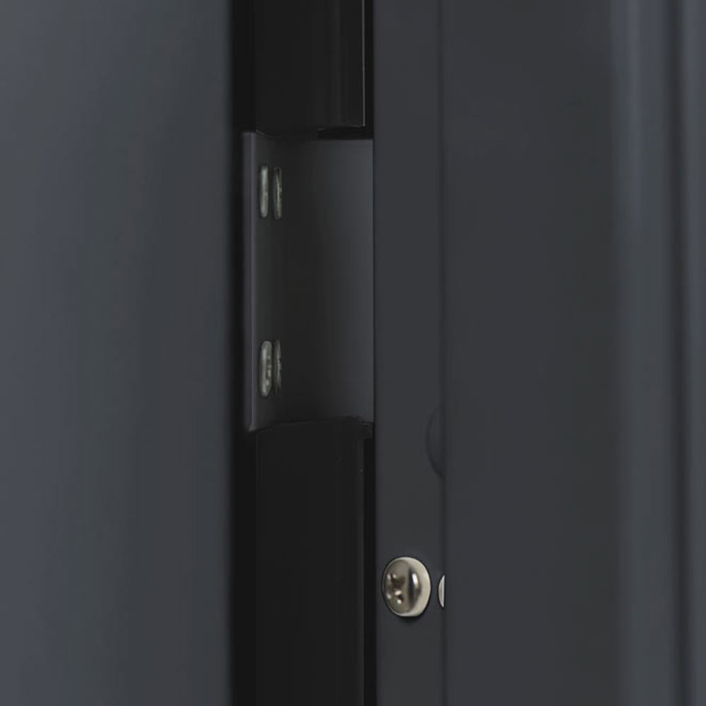Puerta de entrada met lica cuadros gris ref 19370050 - Cuadros y laminas leroy merlin ...