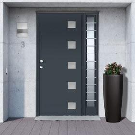 Puertas de entrada leroy merlin for Puertas para exteriores economicas