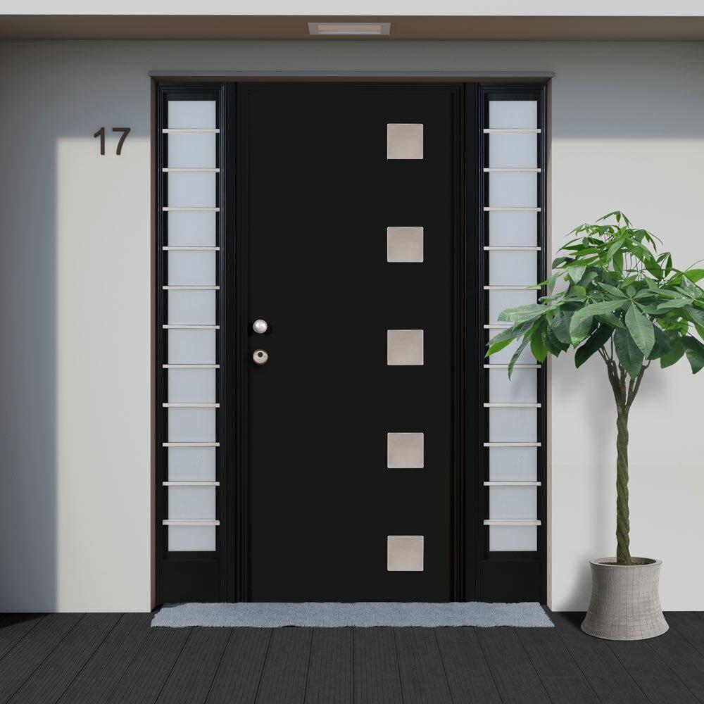 Puertas de chimeneas leroy merlin great puerta de - Puertas de aluminio leroy merlin ...