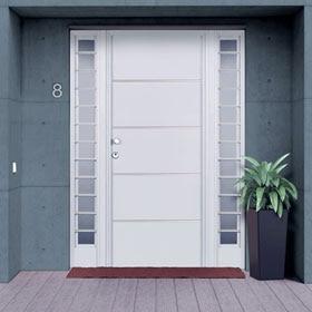 Puertas de entrada leroy merlin - Puerta metalica exterior ...
