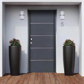Puertas de entrada leroy merlin for Modelos de puertas principales para casas
