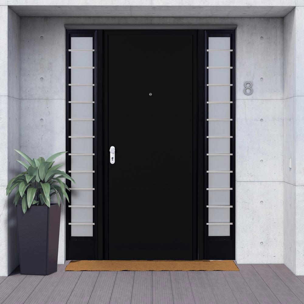 Met lica lisa negra leroy merlin - Puertas de entrada metalicas precios ...