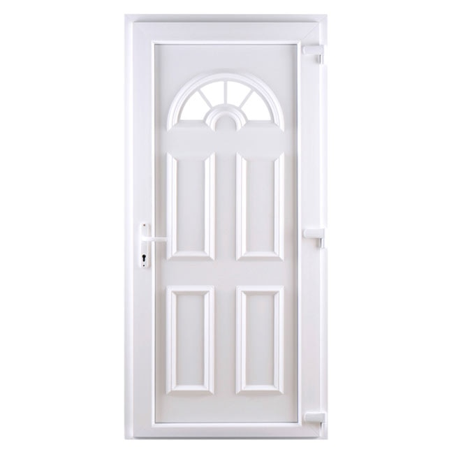 360109 pvc ibiza blanca pvc ibiza blanca ref 360109 pvc1z1ibiza1z1blanca leroy merlin - Leroy merlin puertas entrada ...