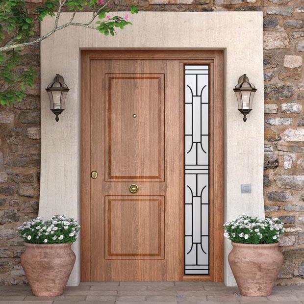 Puertas de entrada leroy merlin for Puertas metalicas entrada principal
