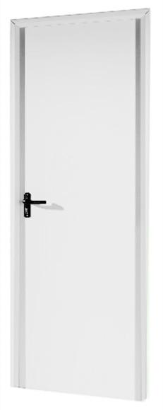 Puerta auxiliar galvanizada galvanizada lacado blanco ref - Puerta de acero galvanizado ...
