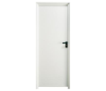 Puerta auxiliar galvanizada galvanizada lacado blanco ref - Puertas lacadas en blanco leroy merlin ...