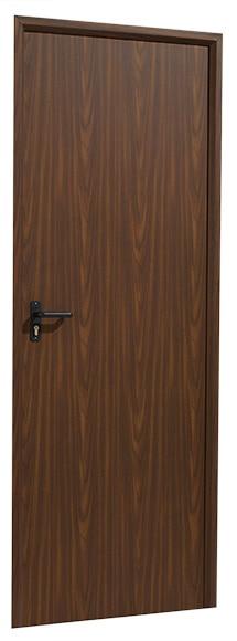 Puerta auxiliar galvanizada galvanizada lacado madera ref for Puertas galvanizadas