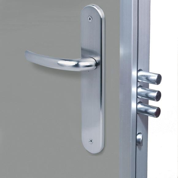 Puerta de seguridad seguridad para trasteros apertura exterior ref 81878544 leroy merlin - Puertas rusticas exterior leroy merlin ...