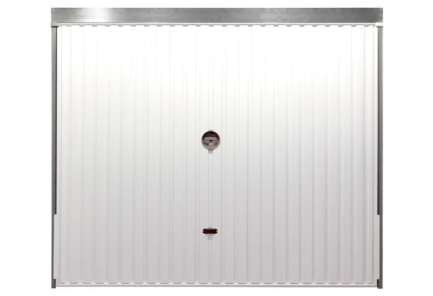 Puerta de garaje basculante ref 16305751 leroy merlin for Puerta garaje basculante precio
