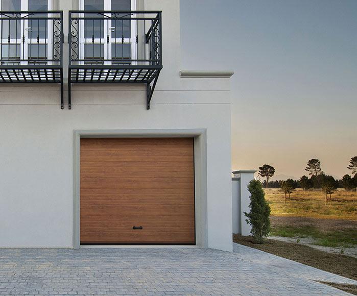Puerta de garaje seccional motorizada artens 2500x2100 - Motor puerta garaje seccional ...