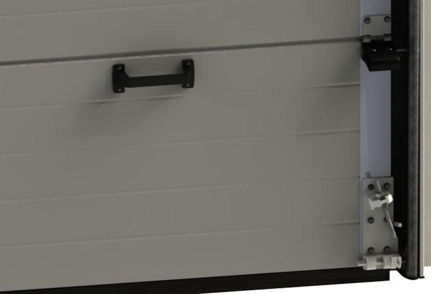 Puerta de garaje seccional motorizada artens 2500x2100 - Dalep 2100 leroy merlin ...