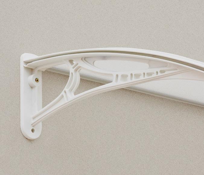 Marquesina mexico blanca 120 x 21 x 70 cm ref 17866100 - Marquesinas leroy merlin ...