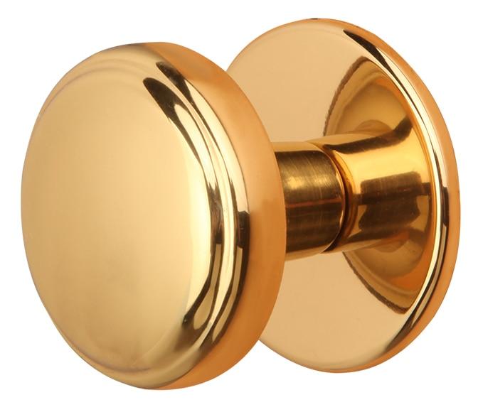 Pomo de entrada cullera dorado brillo ref 14744926 - Pomos puertas leroy merlin ...