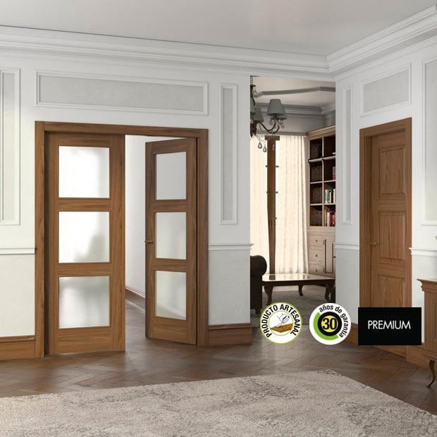 Puertas de interior de madera leroy merlin for Puertas para casa interior
