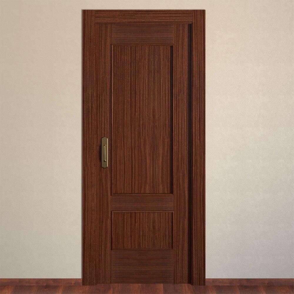 Puerta de interior maciza atenas sapelly ref 13566455 for Puertas sapelly