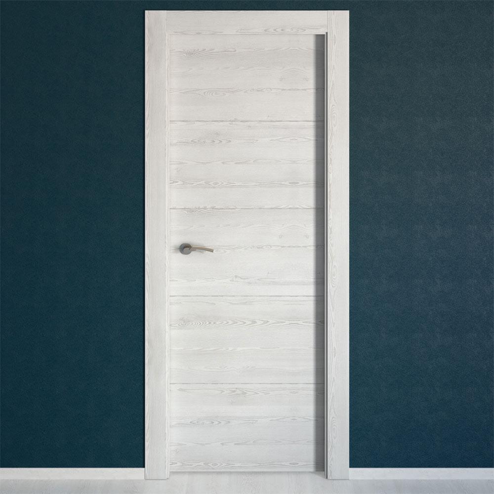 Puerta de interior maciza berna blanco ref 17993381 - Comodas blancas leroy merlin ...
