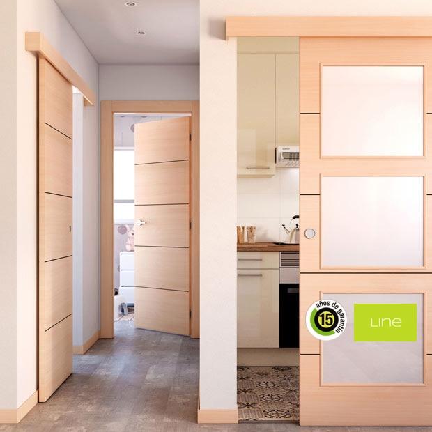 Puertas de interior de madera leroy merlin - Puertas casa interior ...