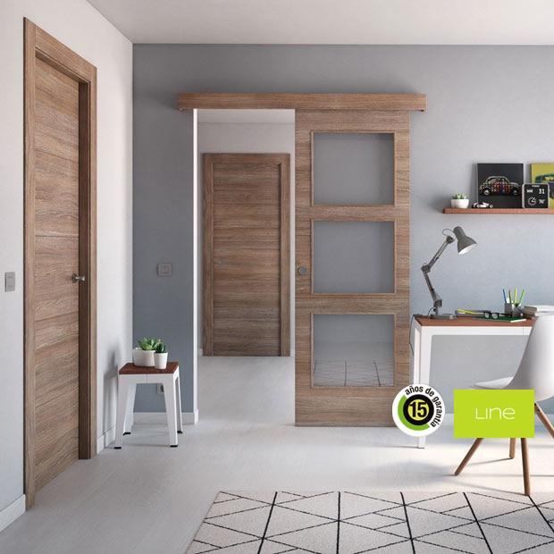 Puertas de interior de madera leroy merlin for Puertas rusticas exterior leroy merlin