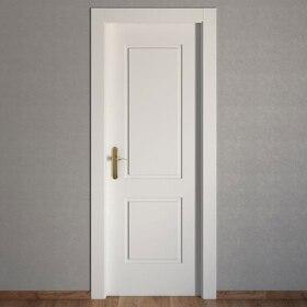 Puertas de interior de madera leroy merlin for Precio puertas blancas