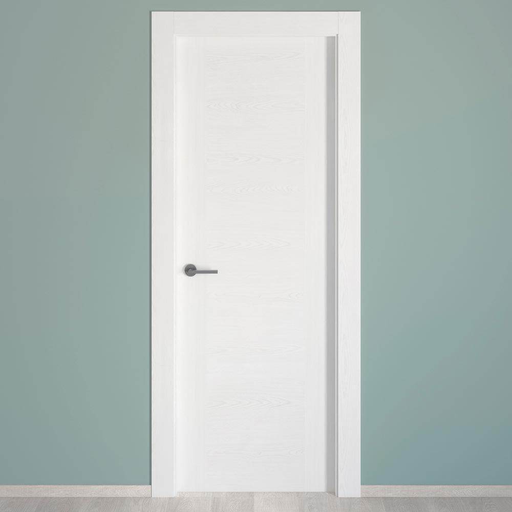 Puerta de interior hueca CANARIAS BLANCA Ref. 17976133 - Leroy Merlin