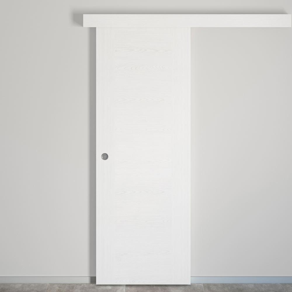 Puerta De Interior Hueca Canarias Blanca Ref 17978324 Leroy Merlin