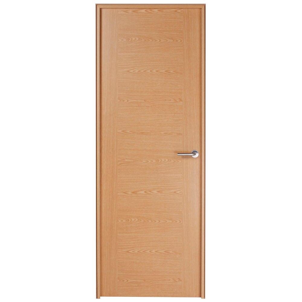 Puerta de interior canarias roble ref 16150806 leroy merlin for Puertas de roble interior