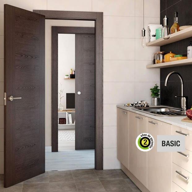 Puertas de interior de madera leroy merlin for Puertas prefabricadas