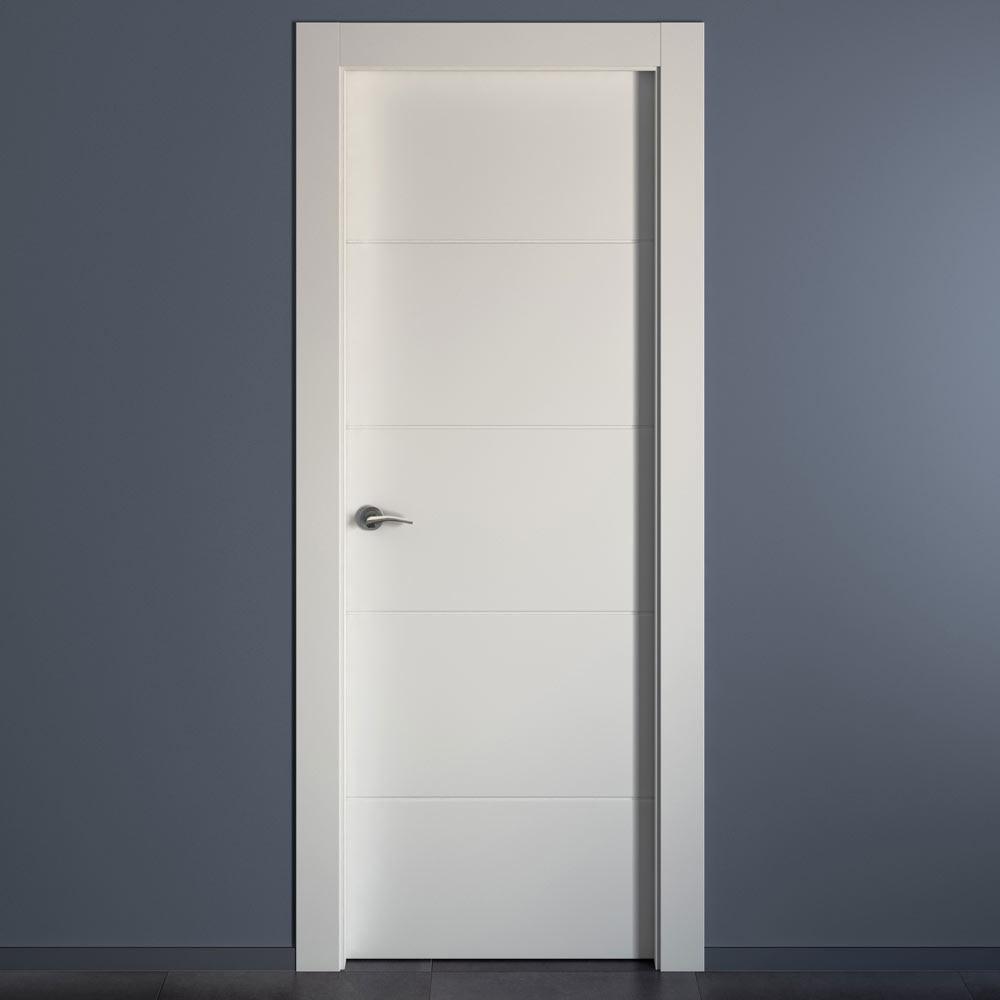 Puertas aluminio exterior leroy merlin monaco lacada blanca doble with puertas metalicas leroy - Puertas metalicas leroy merlin ...
