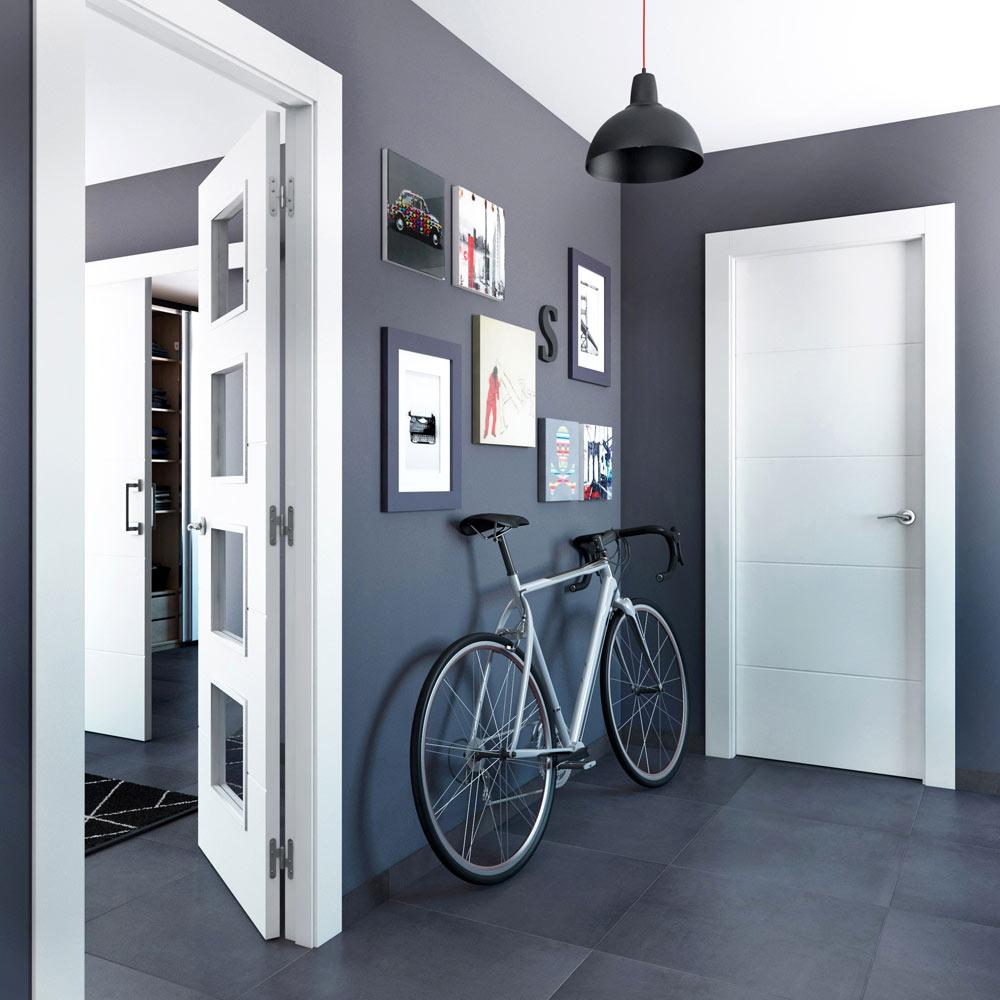 Holanda Blanca Leroy Merlin ~ Color Paredes Para Puertas Blancas