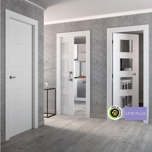 puertas de interior de madera leroy merlin