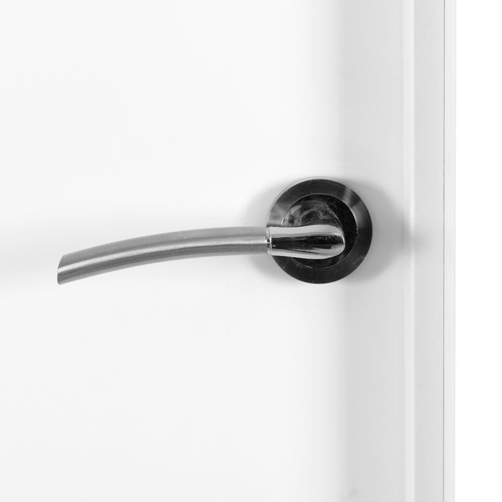 puerta de interior lyon blanca ref 14406133 leroy merlin. Black Bedroom Furniture Sets. Home Design Ideas