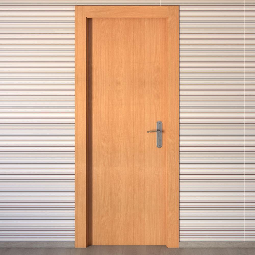 Puerta de interior mallorca haya ref 15720831 leroy merlin - Puertas de haya vaporizada ...