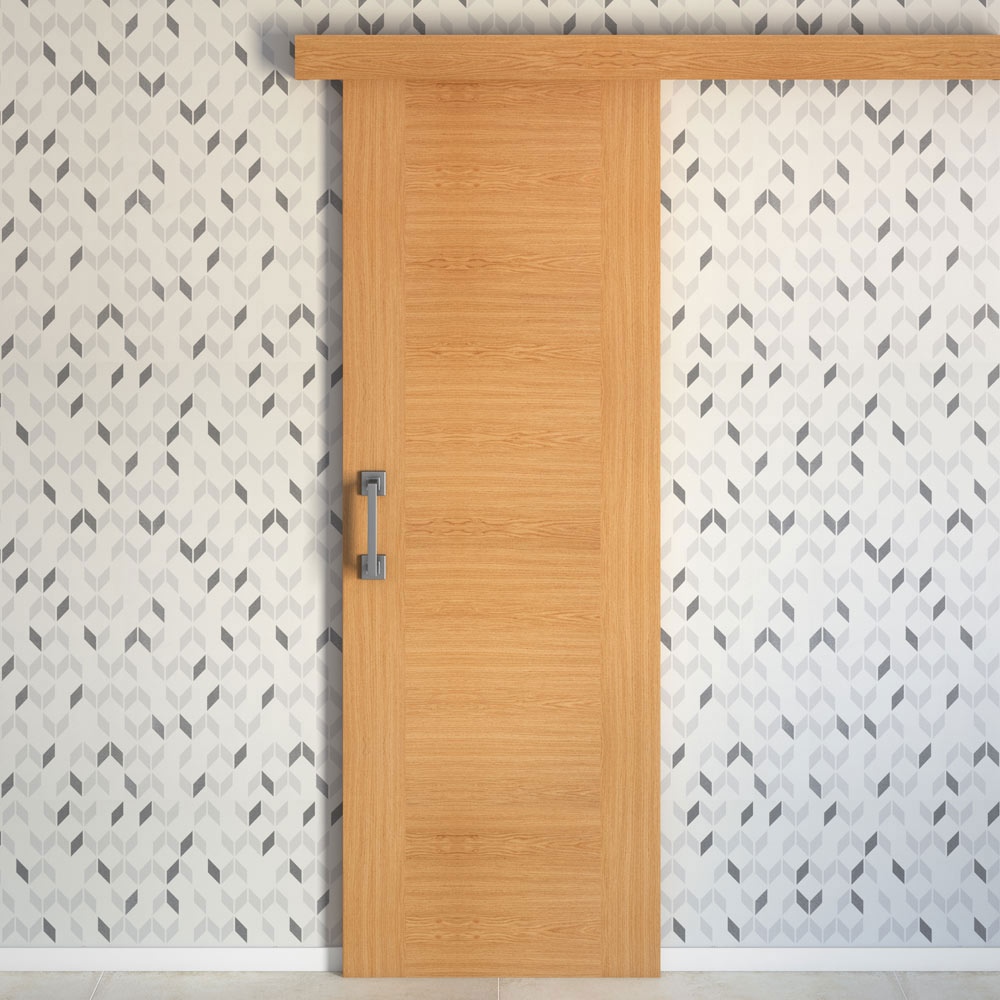Puerta de interior maciza niza roble ref 13566504 leroy for Precio puertas de roble de interior