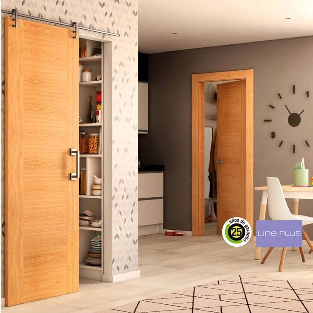 Puertas de interior de madera leroy merlin for Parquet leroy merlin precios