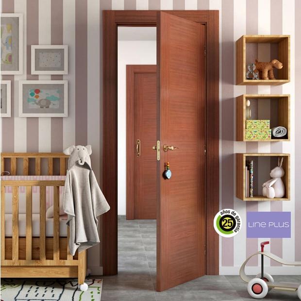 Puertas de interior de madera leroy merlin for Precio puertas interior madera maciza