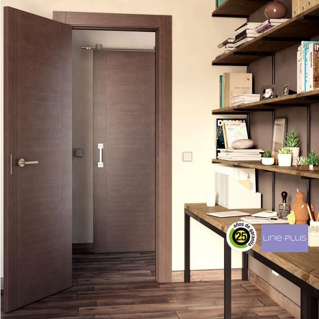 Puertas de interior de madera leroy merlin for Cambiar de color puertas interiores