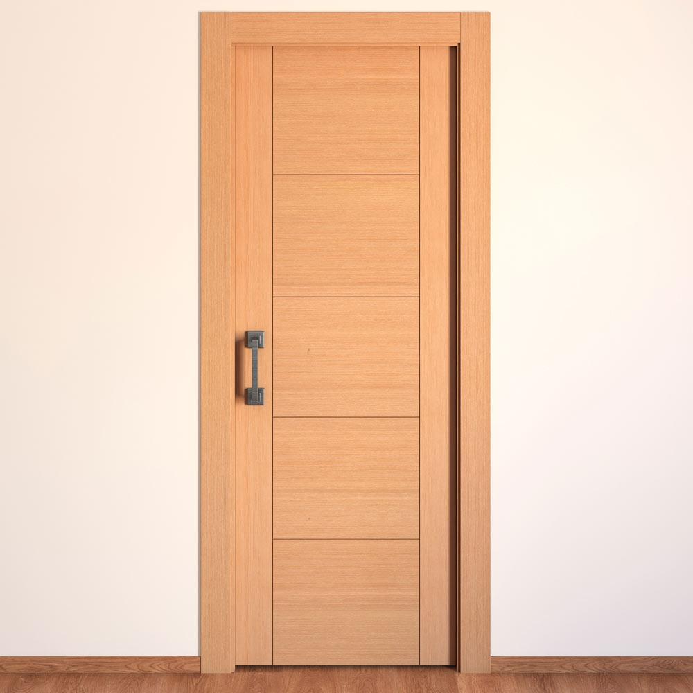 Puerta de interior maciza noruega roble decape ref - Puerta de roble ...